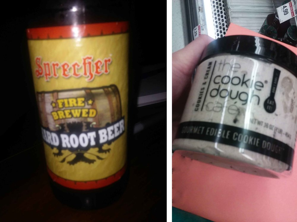 root beer and ice cream