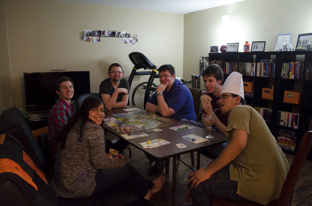 The Group - Playing Shadows of CamelotRai, Chris, Kevin, Alex, Nathan, and Shams