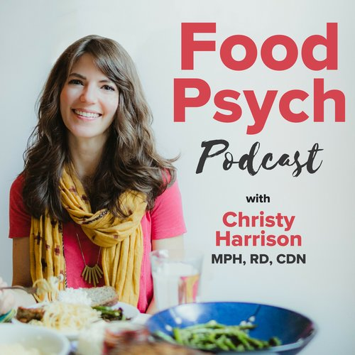 Food Psych Podcast,a weekly show dedicated to helping you make peace with food and your body. - Each episode, Christy Harrison talk with inspiring guests—including leaders in the body-positive and Health at Every Size movements—about intuitive eating, body image, eating disorder recovery, weight stigma, fat acceptance, nutrition, and more.This podcast calls out diet culture for the life thief that it is, and challenges it in all its sneaky forms—including the restrictive behaviors that often masquerade as wellness and fitness.Launched in 2013, Food Psych is now one of iTunes'top 100 Health podcasts and the world's leading anti-diet podcast.(this information is found on the podcasts website here)