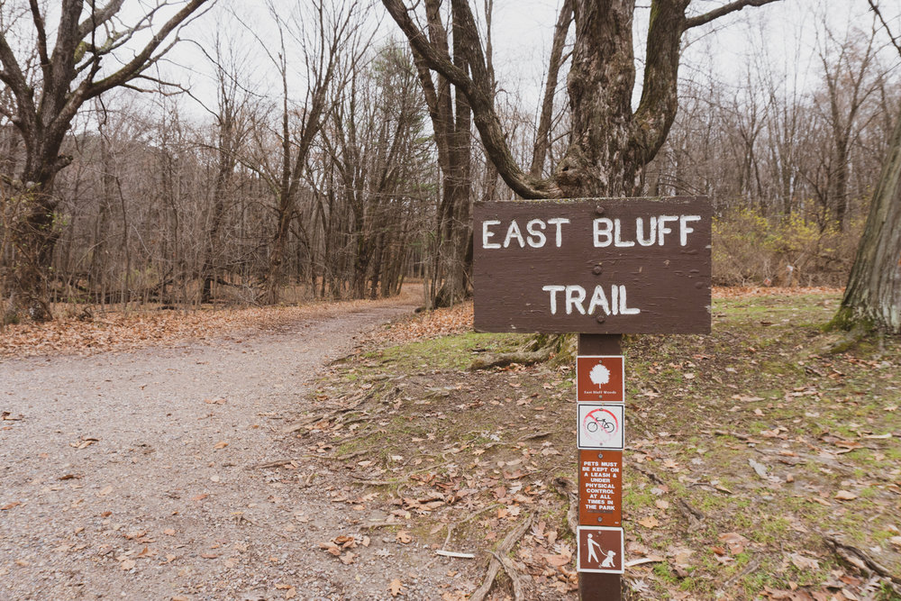 East Bluff Trail - Devil's Lake