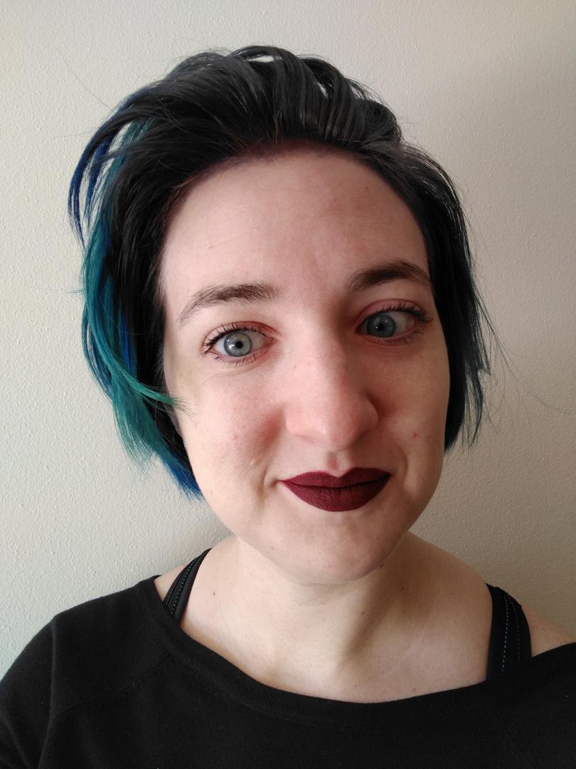 FEB - more blue but trimmed it short.