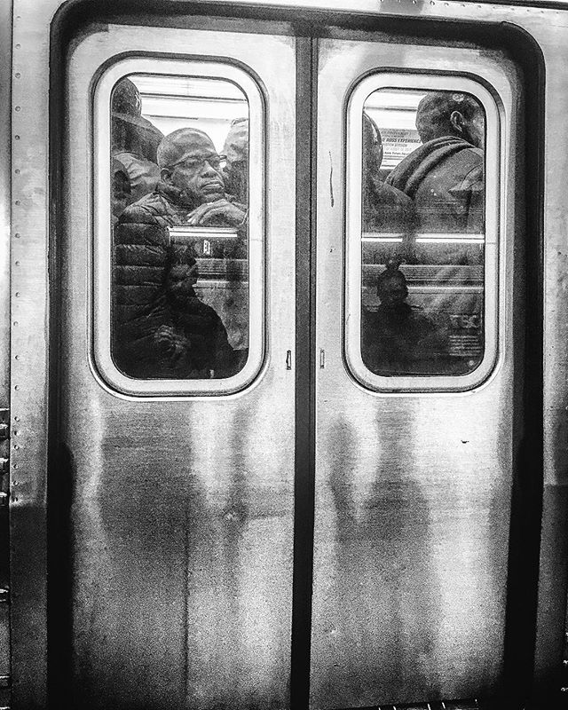 """Riding the subway these days be like """"what the fuck is wrong with me?"""" — Do you really believe that something that can generate MILLIONS of dollars in a single day can't fund itself?  #fuckyouMTA #FUCK #YOU #MTA #overcrowded #underfunded #ponzi #scheme #crooked #ny #politics #city #operated #state #owned #BULLSHIT"""