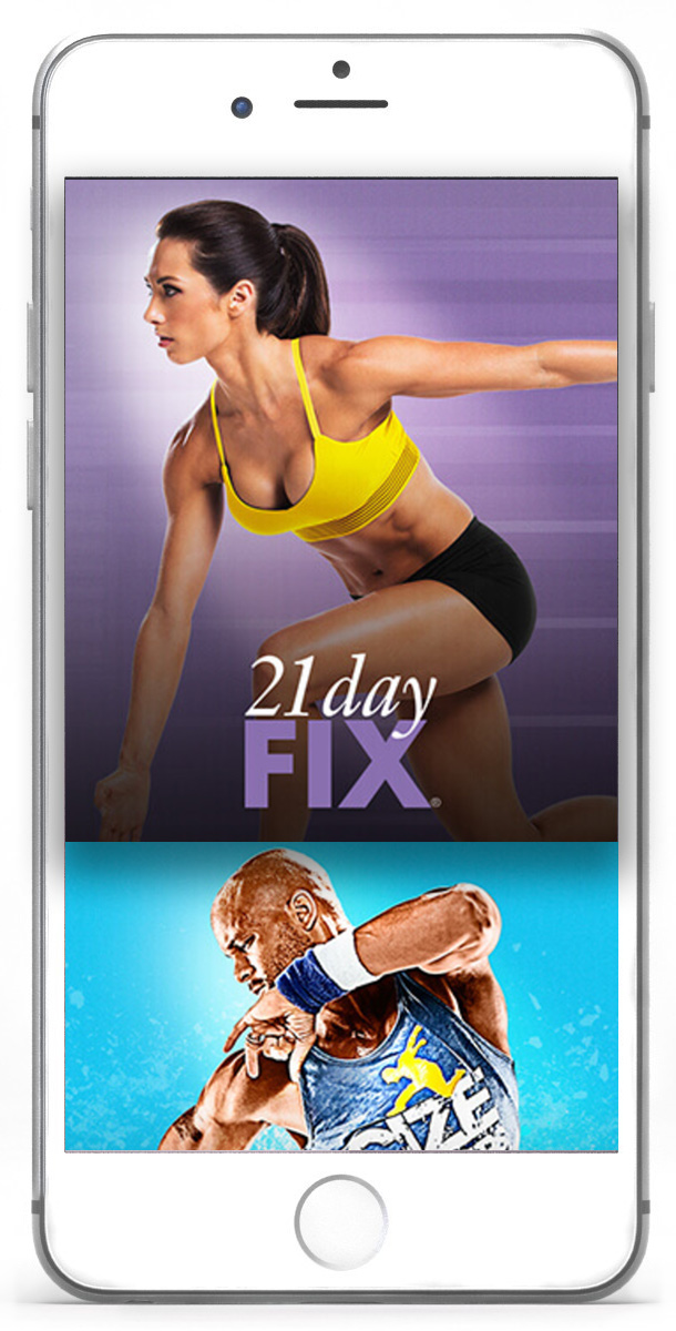 iphone app for beach bodies access content anywhere