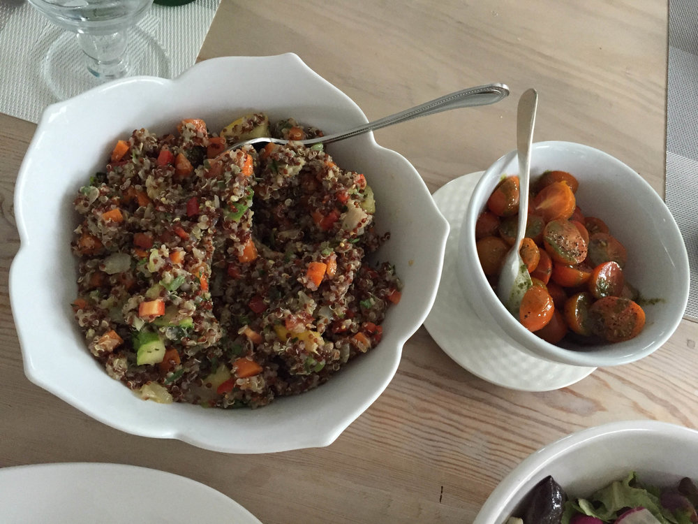Quinoa Salad with Red Wine Vinaigrette