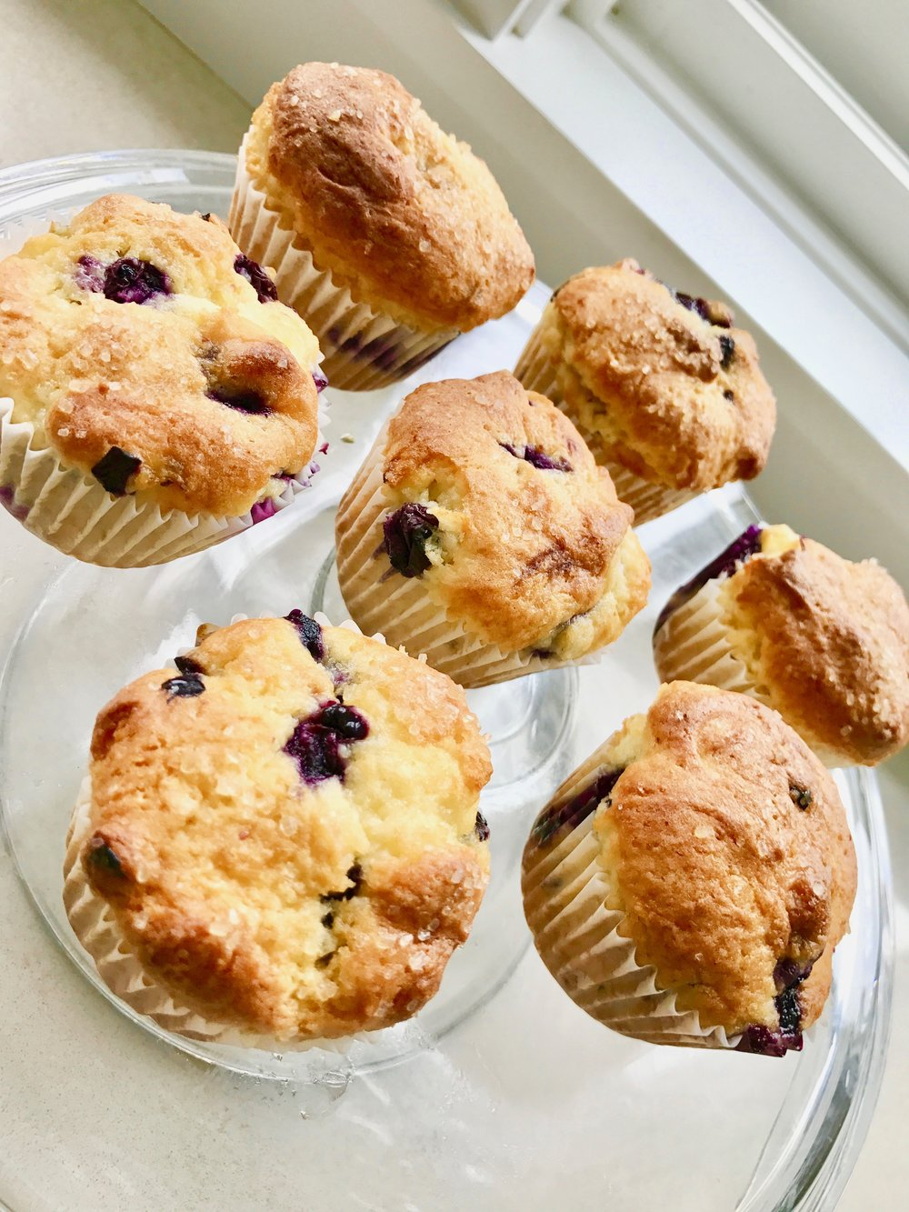 Okay, I do occasionally make blueberry muffins, from time to time…