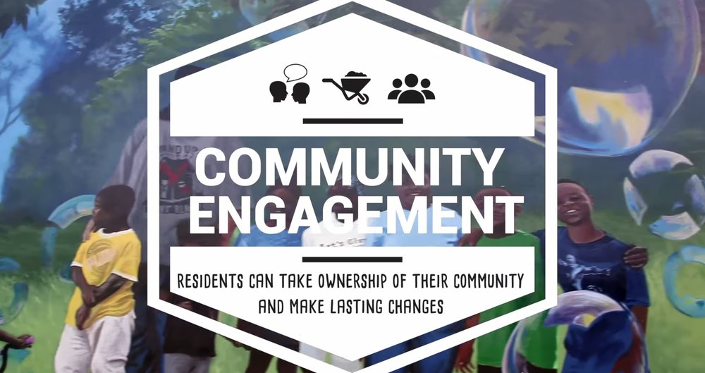 Through local engagement, residents can take ownership of their community and are empowered to make lasting changes through grass roots efforts.
