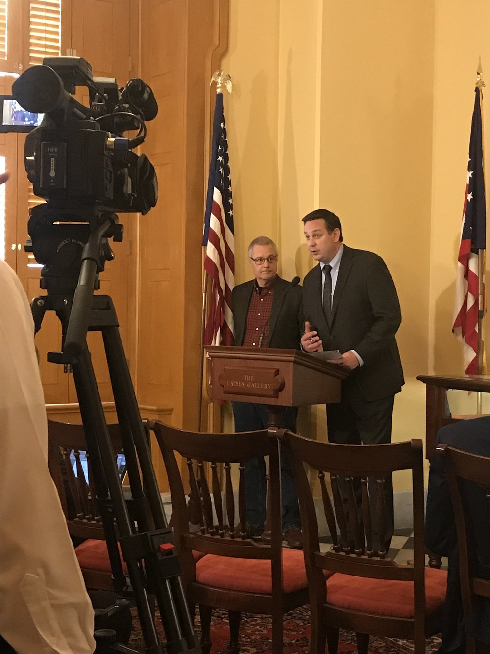 Pastor Carl Ruby and Nate Coffman explain the necessity for payday lending reform.