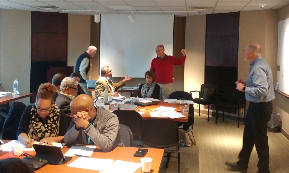 Interactive discussion and problem solving were a major component of the SEIP Phase 2 Boot Camp in January 2019.