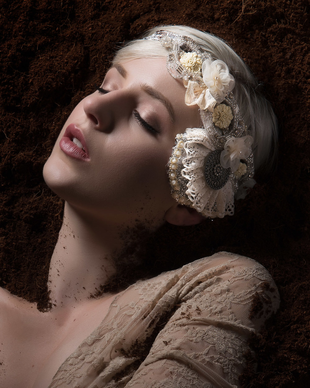 Kuoh Photography - Buried Treasure Beauty Concept - Head