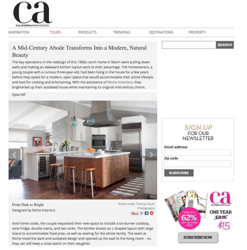 Ca Home Design Magazine Feature House Tour Thomas Kuoh