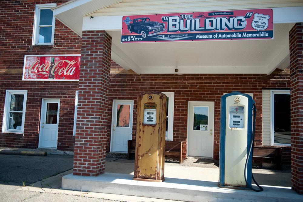 'The Building' Cliff's Museum of Car Memorabilia