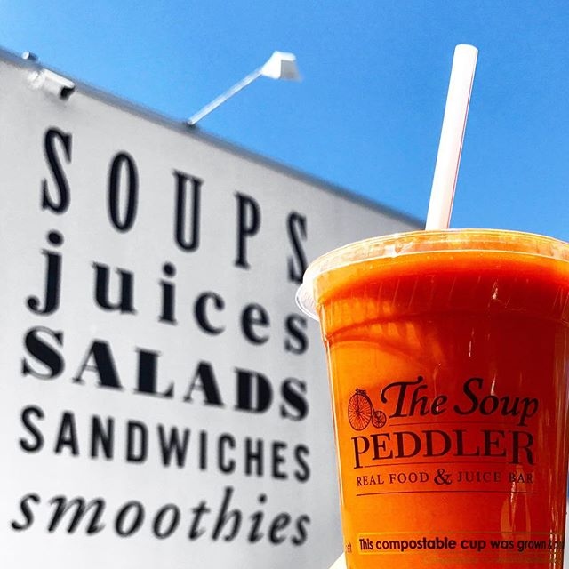 Soups, juices, salads, sandwiches, and smoothies.  #sundayfunday 📷 @missconfectionist