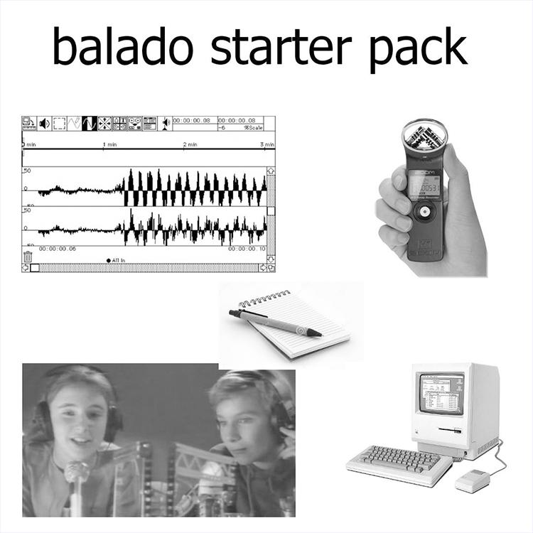 Balado starter pack - Atelier donné Simon Labelle et Julien Morissette11h00 - samedi.à DAÏMÔN (Espace La Fab).
