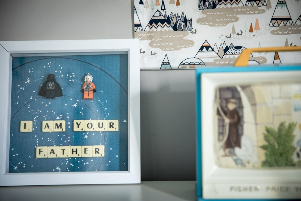 Childrens room Artwork Star Wars