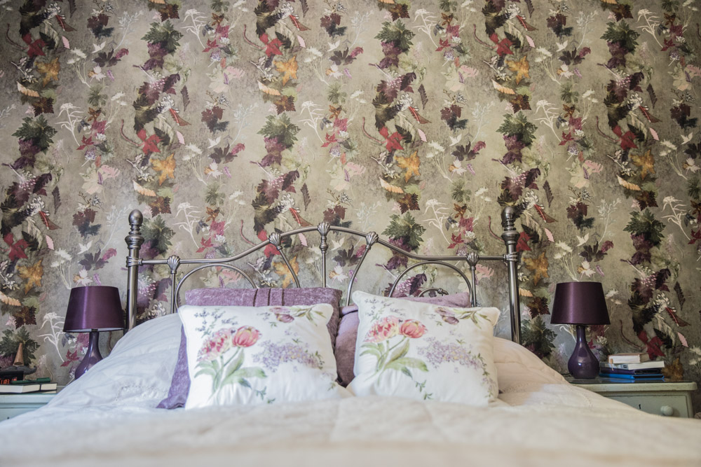 Gillian Arnold Wallpaper Deep Floral Dance
