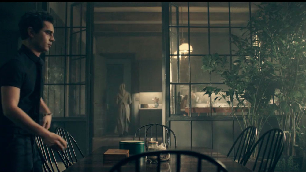 The Handmaid's Tale Kitchen with Nick and Crittall Doors