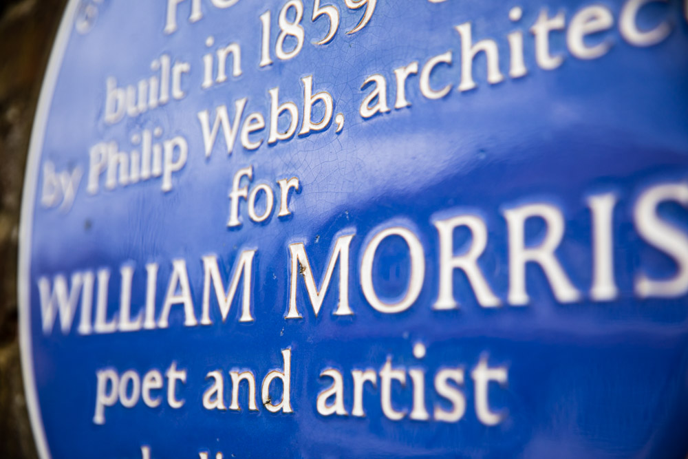 William Morris blue plaque
