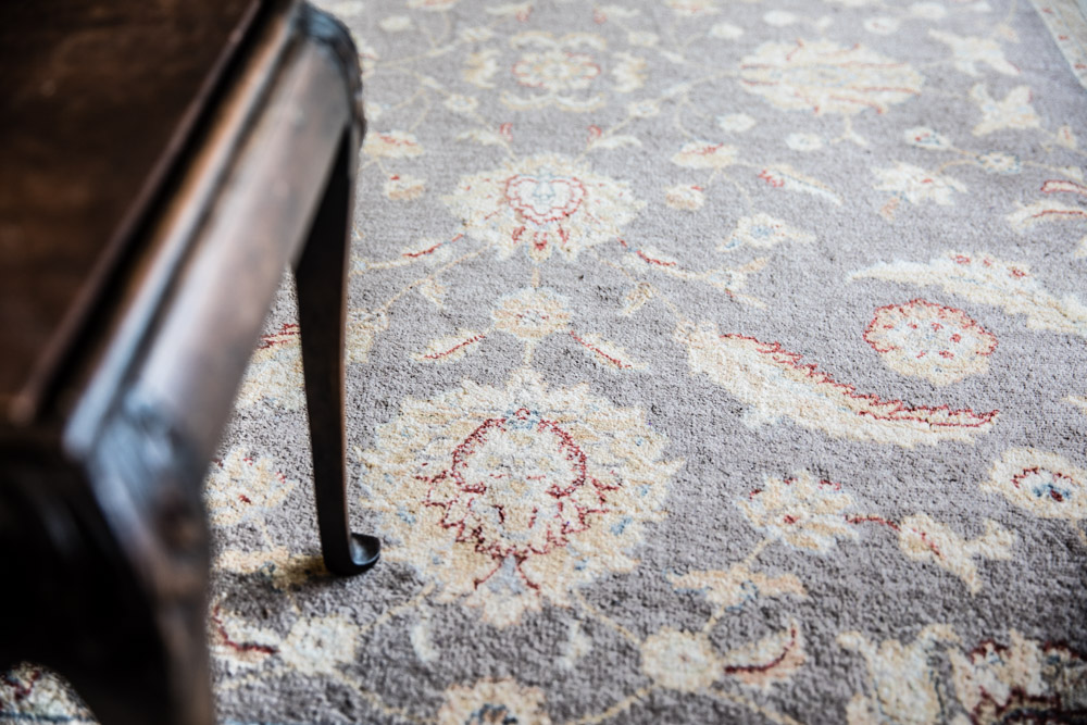Rug inspiration in lounge area