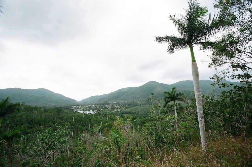View over the Ecovillage, La Terrazas, Cuba