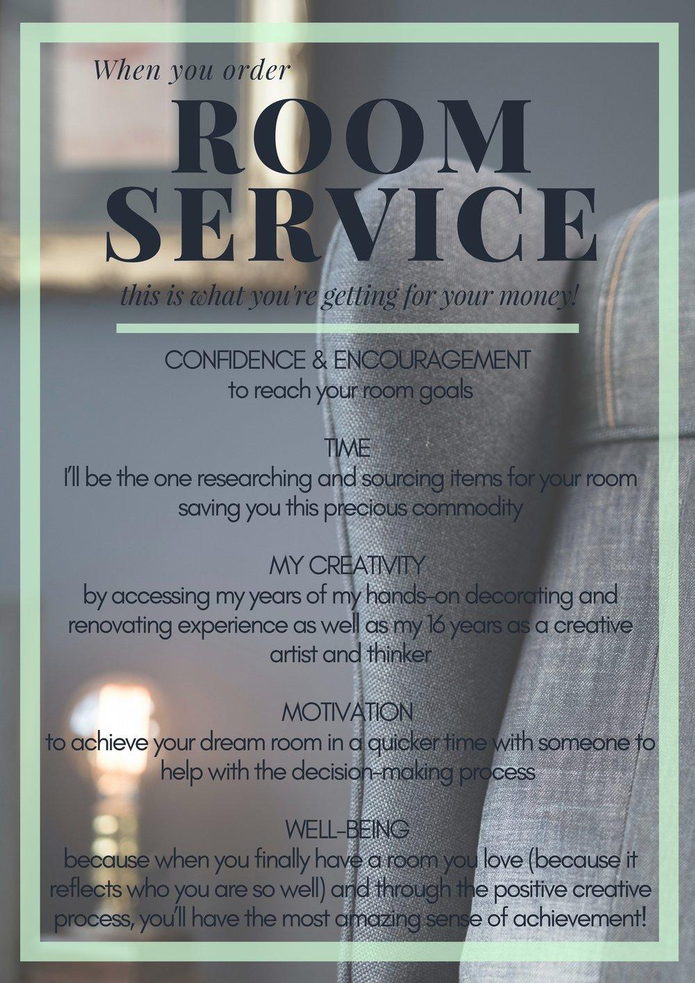 Benefits of Room Service