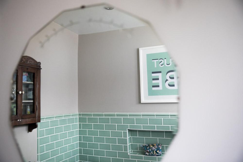 My vintage bathroom!