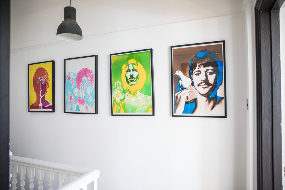 Victorian converted flat - Beatles Art work