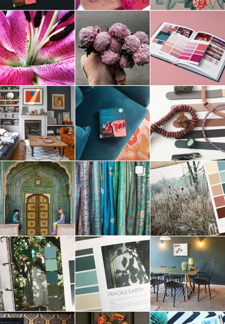 The Instagram feed of Luminary Colour