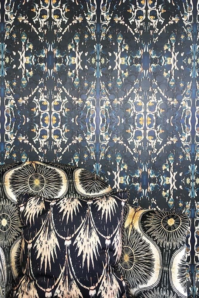 Siouxsie wallpaper by  Anna Hayman Designs