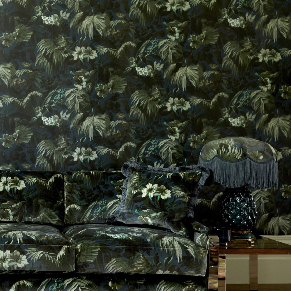 Limerence wallpaper by  House of Hackney . I may only be able to stretch my budget to one small wall of this gorgeous design!