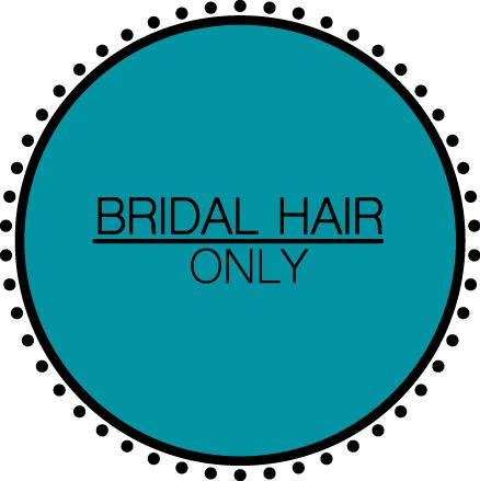 Bridal Hair Only
