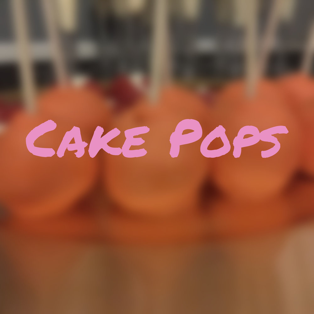 Cake Pops Section