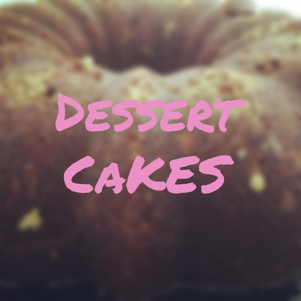 Dessert Cakes Section