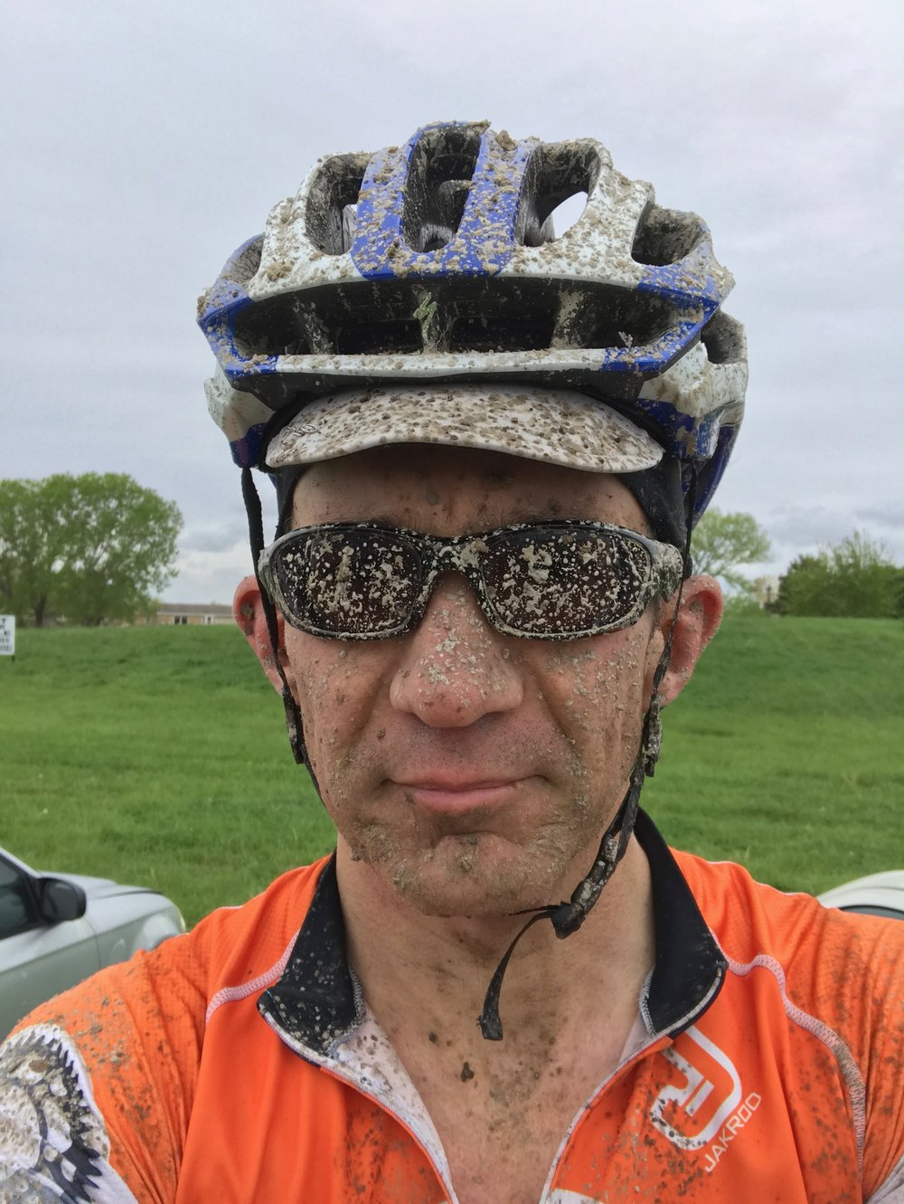 It was very, very muddy at the Rage of Oz in Benton, Kansas. I could see much better than my glasses would indicate, though.