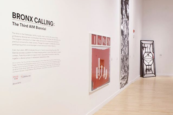 THE BLOCK GALLERY |AIM ARTISTS IN THE MARKETPLACE - BRONX MUSEUM -