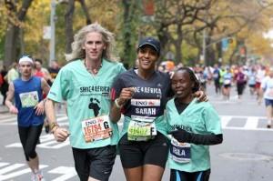 Sarah Jones running