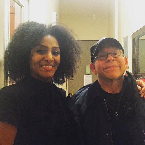 Sarah Jones and Bob Balaban.jpg
