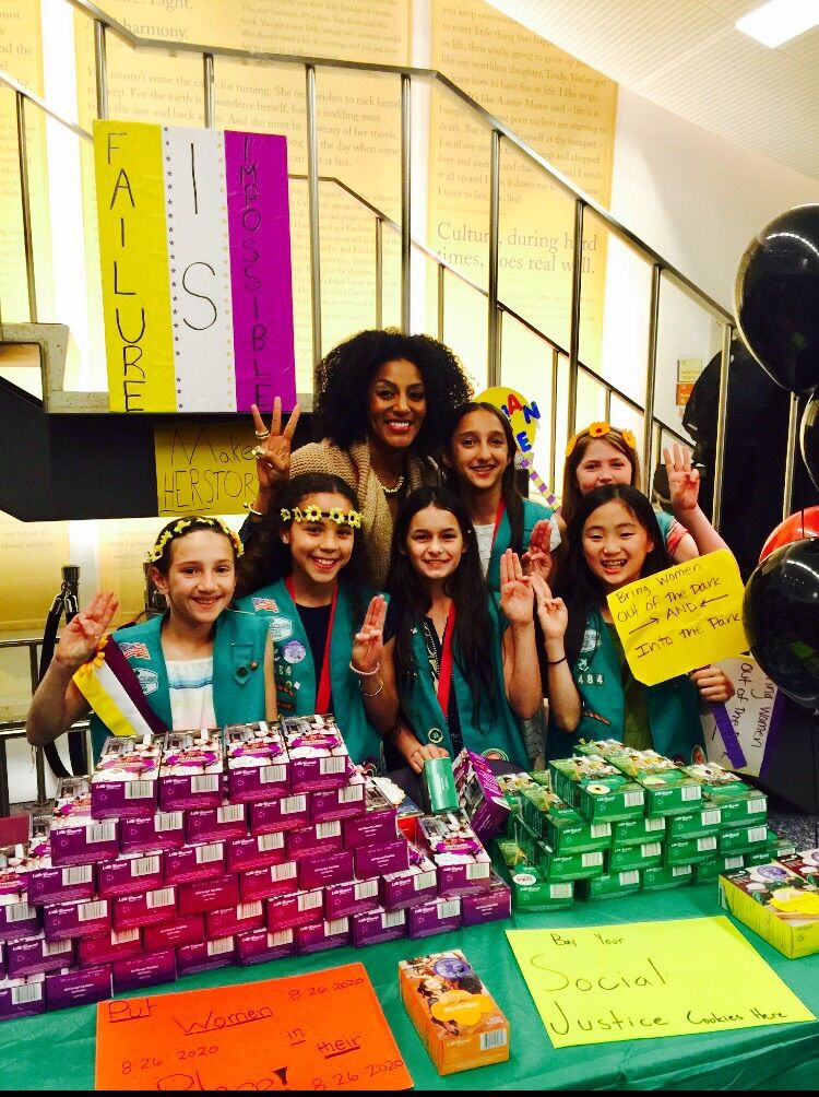 Sarah Jones & Girl Scout Troop 3484.jpg