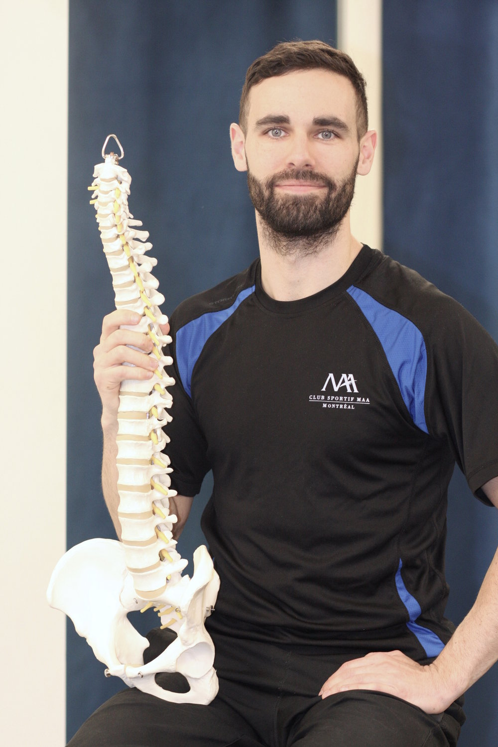 Author: Steve Procter, MSc, BSc, PT, AT, CEP, CPT, Fellow-HFFC  Clinical Director, Physiotherapist, Trainer -  Club Sportif MAA