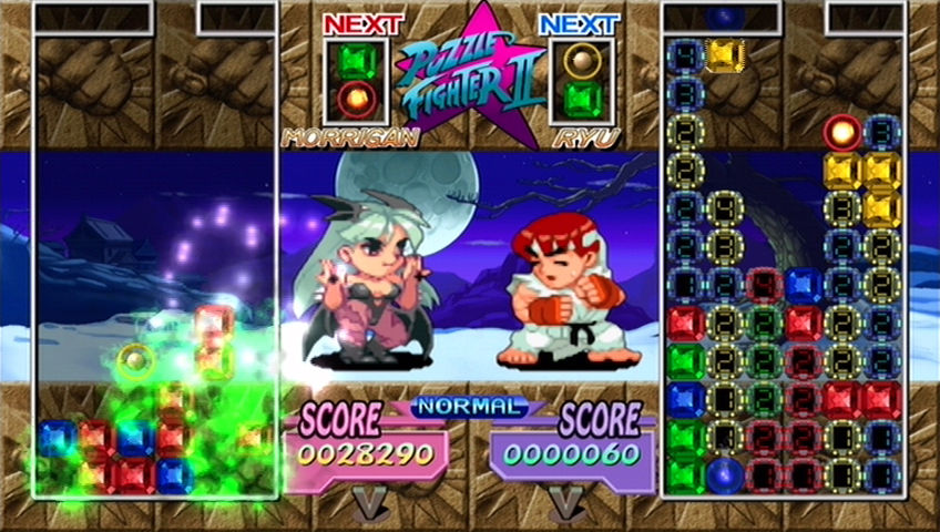 ^ 2007's Super Puzzle Fighter 2 Turbo: HD Remix updated graphics and added new modes. It was a digital release available on Xbox Live Arcade and the PlayStation Store.
