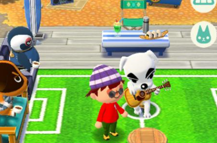 One of Animal Crossing's most beloved characters K.K. can be added to your Campsite if you purchase his chair, a unique item that can only be purchased with Leaf Tickets.