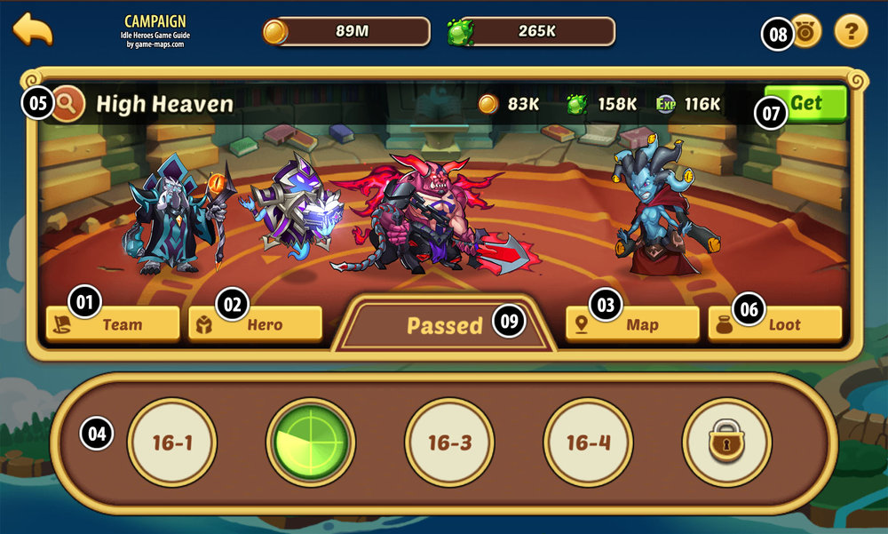 Idle Heroes showed a new way on how to win in the diverse RPG category