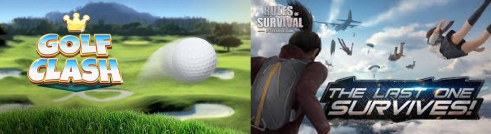 Adam and Anil will be breaking down two of the big titles in 2018; Golf Clash and Rules of Survival.
