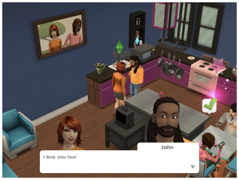 The Latest Sims Mobile. It Looks almost like the PC game!