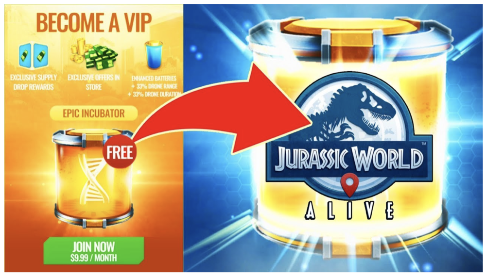 The VIP-system in Jurassic World is top notch!