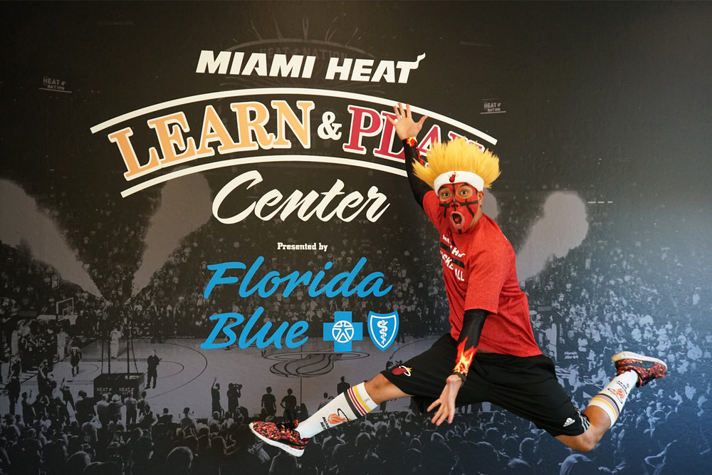 Metro Signs works closely with the Miami Heat and Learn & Play Center to transform the walls into an amzing expereince for the kids.