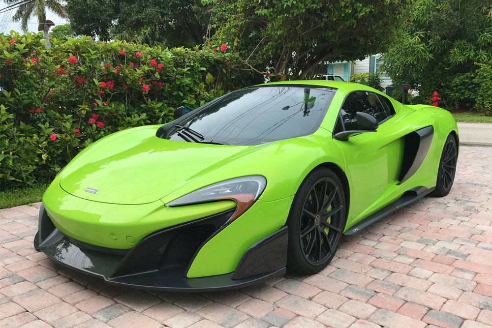 McLaren Miami Car Wrap Exotic