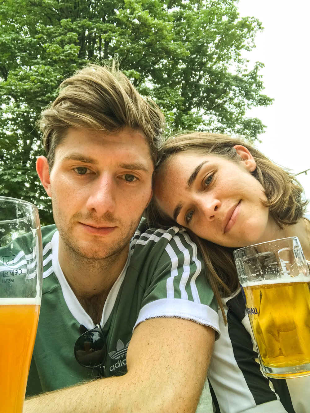 Megan and Iain in Berlin