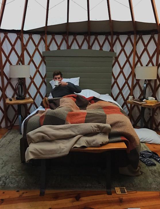 Treebones Big Sur yurt