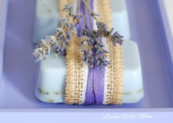DIY gifts for mom: Lavender Goat Milk Soap