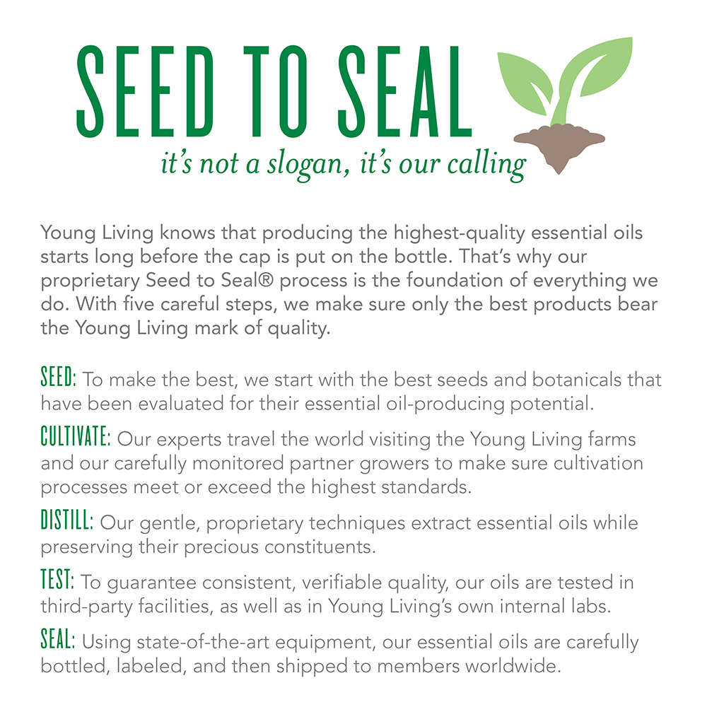 Young Living's Seed To Seal Process